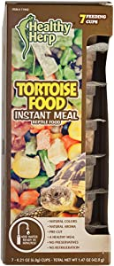 Healthy Herp Tortoise Food Instant Meal 7 x 0.21-Ounce (6.0 Grams) Cups