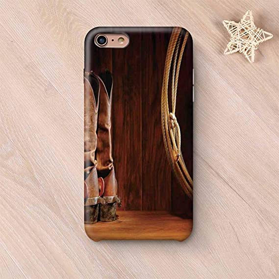 best service 0fefd 3f39e Amazon.com: Western Decor Custom Compatible with iPhone Case ...