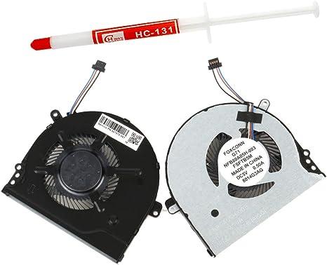 HP Pavilion 927918-001 NFB80A05H-003 FSFTB5M  NS75000-16K11 Original New CPU Fan