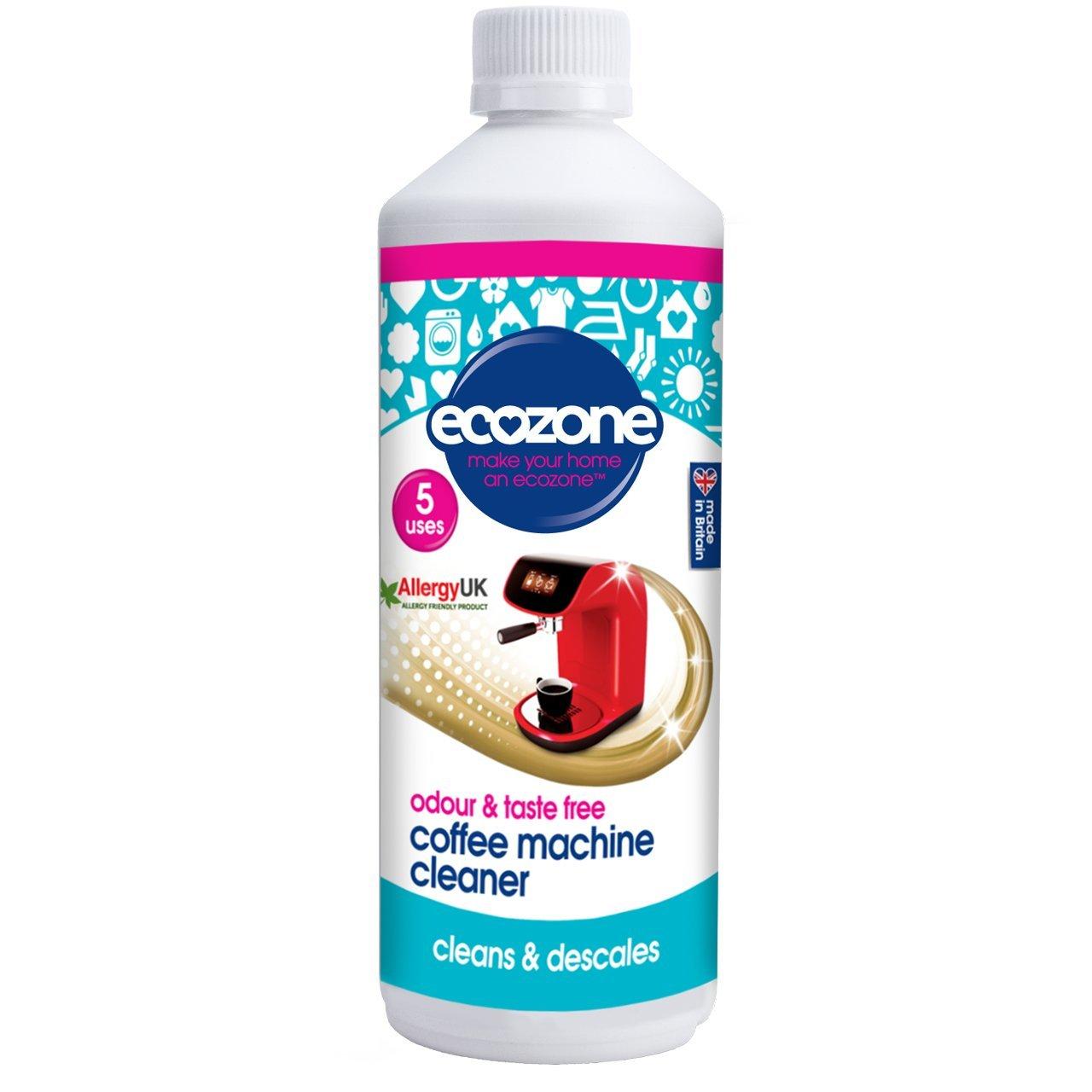 Ecozone Coffee Machine Cleanerdescale 500ml X 3 Pack Of 3