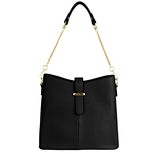 aa75deec22c Women Street Level Mini Faux Leather Shoulder Bag Cross Over Bucket ...