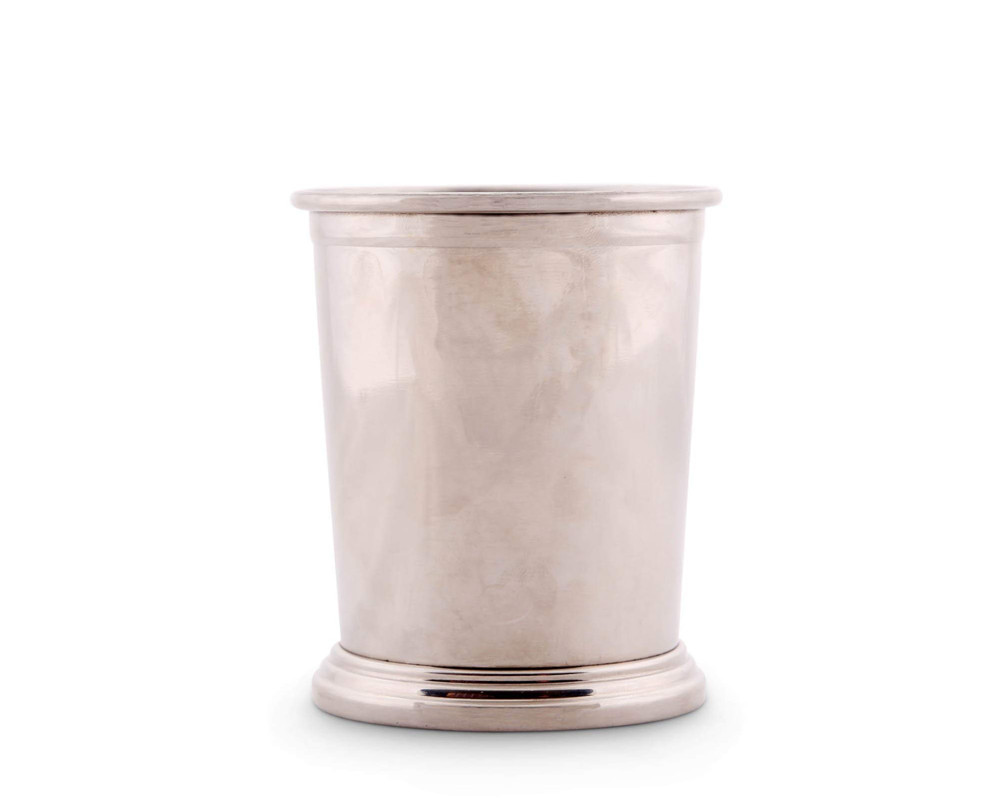 Arthur Court Designs Stainless Steel 4'' Tall Engravable Cup