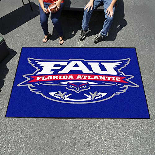 Fanmats Sports Team Logo Florida Atlantic Ulti-Mat 60