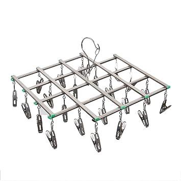 TentHome Mini Tendedero Calcetines seco Estructura Plegable ...