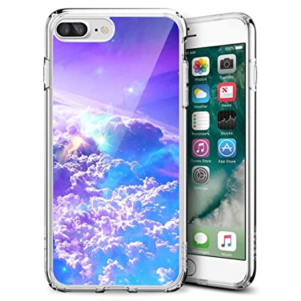 Amazon.com: Funda para iPhone 7 8, Wolf Rose pintura ...