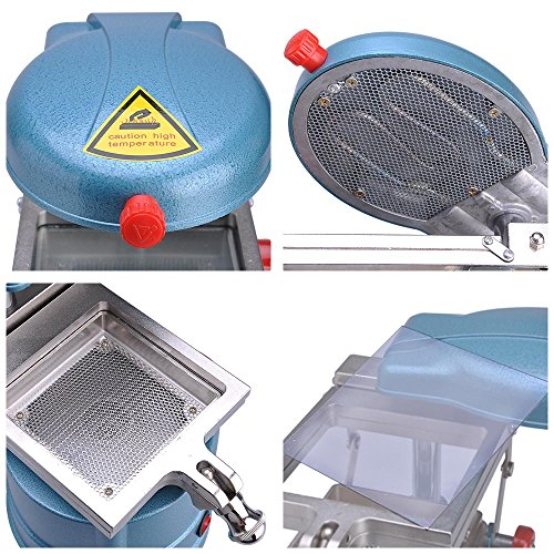 AW Pro Dental Vacuum Forming Machine1000W Power Former Heat Molding Tool w/ Steel Balls Lab Equipment by AW (Image #5)