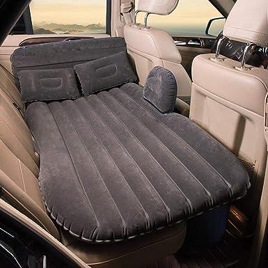 Colch/ón hinchable para el asiento trasero del coche para viajes camping actividades al aire libre