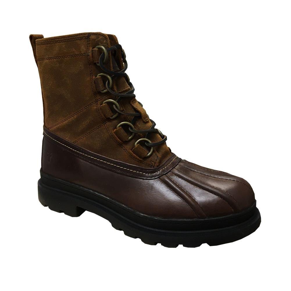 FRYE Riley D Ring Men's Waterproof Shearling Duck Boots, Espresso/Multi, 11.5 M US
