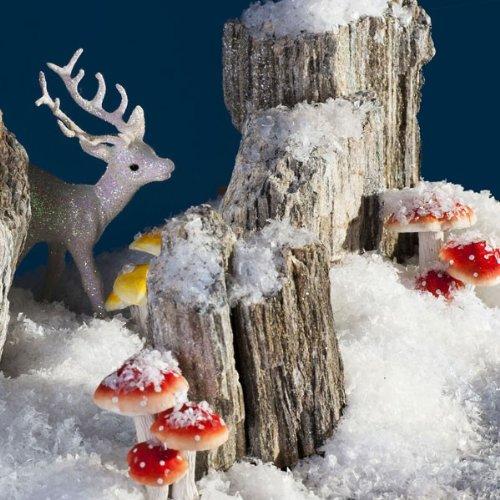 85a69d5fbf199 Dekoschnee Schnee Kunstschnee Streuschnee weiß irisierend mit Glitter  Glitzer 1l 1 Liter  Amazon.de  Küche   Haushalt