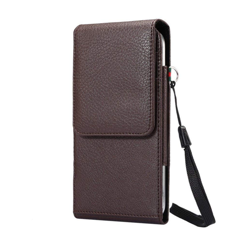 Belt Clip Purse for Galaxy S9,INorton 6.3 inch PU Leather Belt Clip Case with Card Slots,Shockproof Protective Wallet Purse for Galaxy Note 9,S9,S8,S9+,S8+