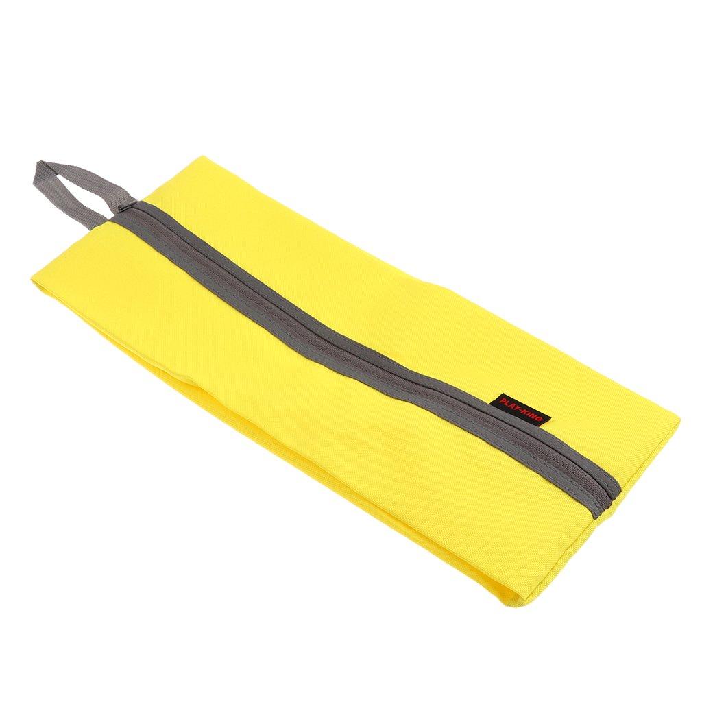 Homyl 1 Pieza de Bolsa Caja de Almacenamiento de Zapatos de Deportes Impermeable Duradero Unisexo - Amarillo