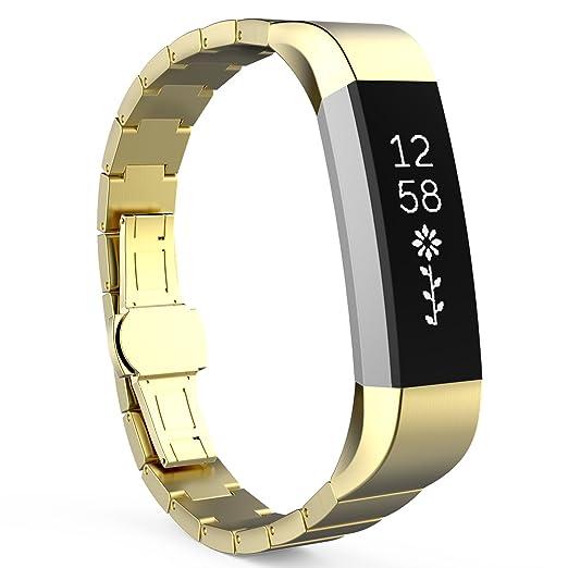 17 opinioni per MoKo Fitbit Alta / Alta HR Watch Cinturino, Braccialetto Sostituzione in Acciaio