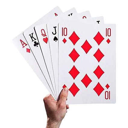 Juguetes para niños Magic Huge Poker Cartas de juego ...