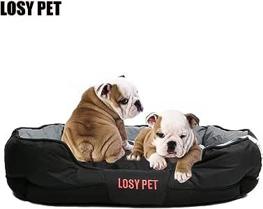 LOSY PET Cama para Mascotas Extraíble Suave Resistente Cojín Lavable Perro Cálido Suave Cubierta para Perro de Tamaño Grande: Amazon.es: Productos para mascotas