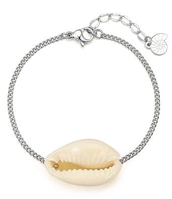 site réputé 1925a dc040 Happiness Boutique Femmes Bracelet Coquillage en Couleur ...
