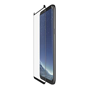 Belkin ScreenForce TemperedCurve Curved Glass Screen Protector for Samsung  Galaxy S8 (Edge to Edge Coverage, Tempered Glass)
