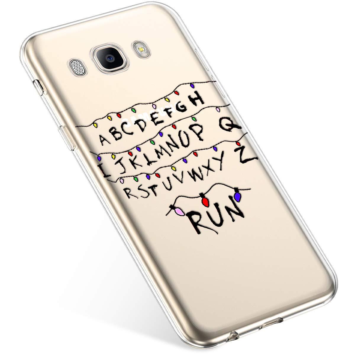 Uposao Coque pour Samsung Galaxy J5 2016 Etui Silicone TPU Souple Transparente Coque Noë l Cerf Flocon de Neige pè re noë l Sapin de Noë l Elk Christmas Motif Ultra Mince Premium Hybrid Case Coque. PYHT00018744