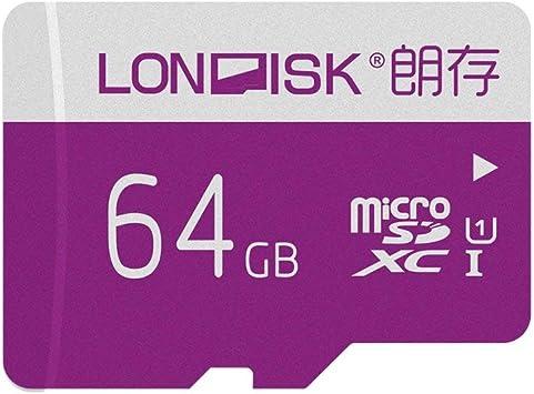 Pack de 2 LONDISK 64GB Clase 10 Tarjeta de Memoria Micro SD ...