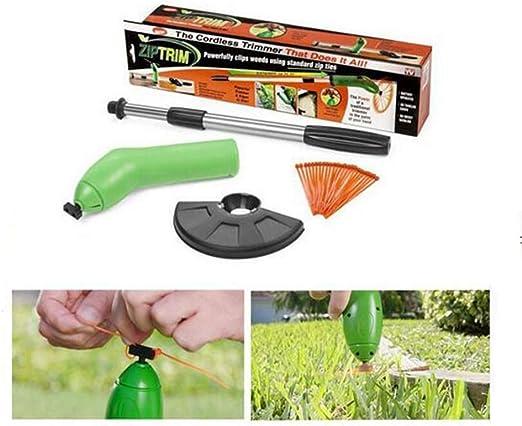 MYFGBBTJ Mini cortacésped telescópico, Mini cortacésped eléctrico de Mano, desbrozadora portátil para jardín, desbrozadora de Hierba inalámbrica: Amazon.es: Hogar