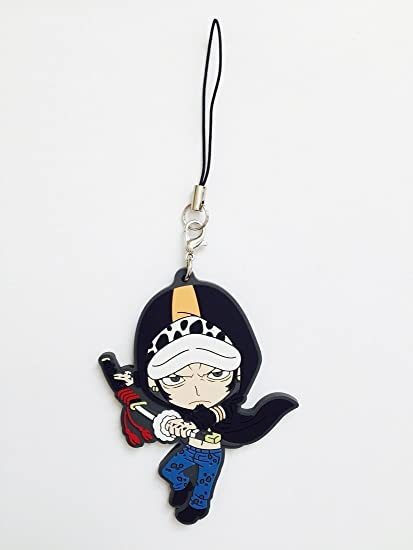 Amazon.com: One Piece: Ley PVC Correa llavero ~ Trafalgar ...