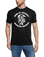 Sons of Anarchy Redwood SAMCRO ! ! T-Shirt Black S - XXXL