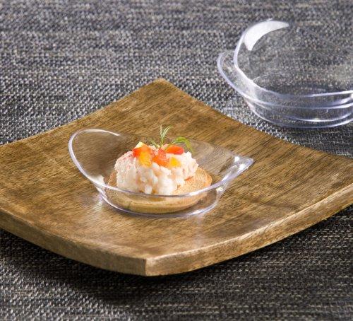 EMI Yoshi Koyal Relish Dish, 2.5-Inch, Clear, Set of 200