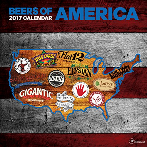 2017 Beer Labels of America Wall Calendar by TF Publishing