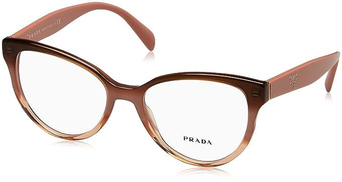 Amazon.com: anteojos Prada PR 1 UV vx51o1 gradiente Burdeos ...