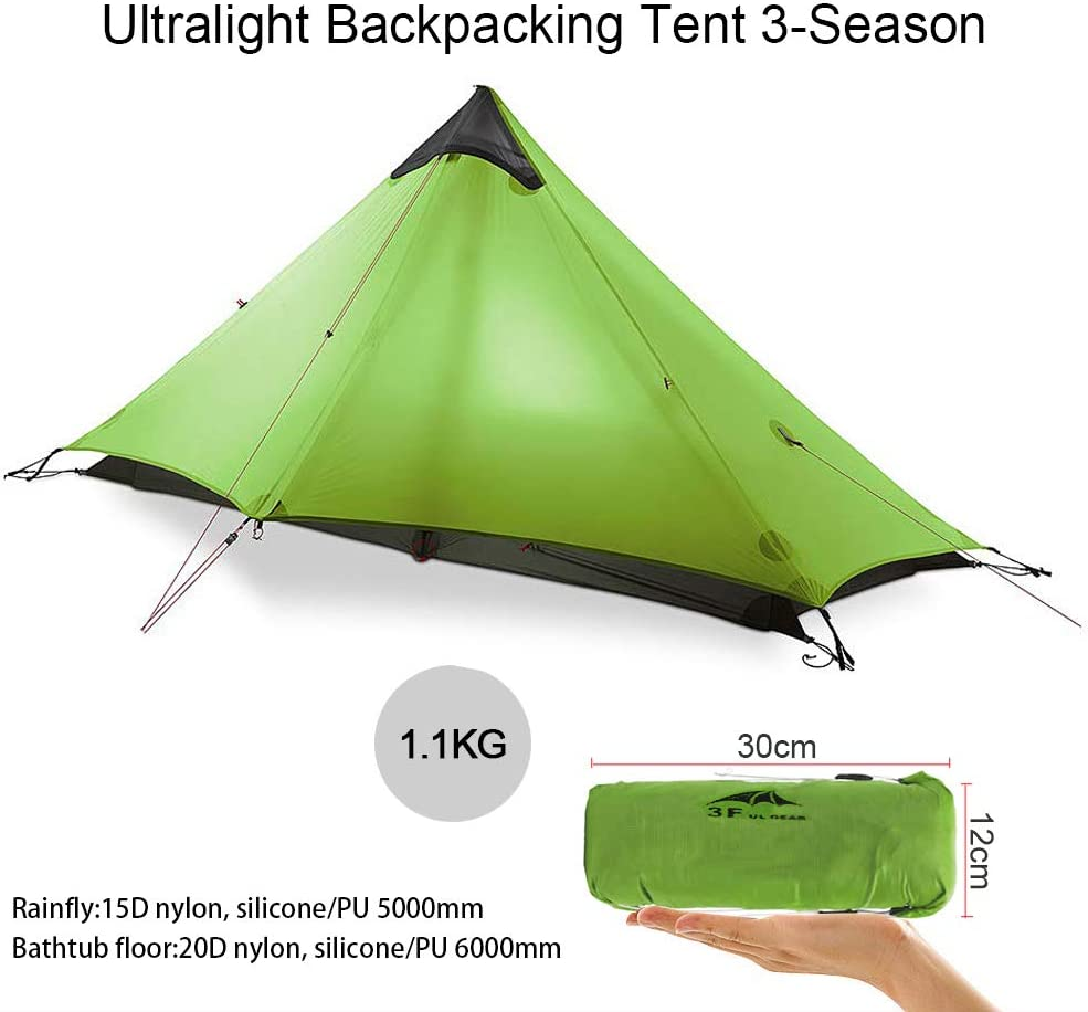 Person Oudoor Ultralight Camping Tent