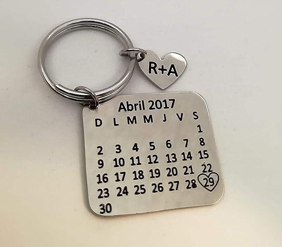 Amazon.com: anniversary keychain: Handmade
