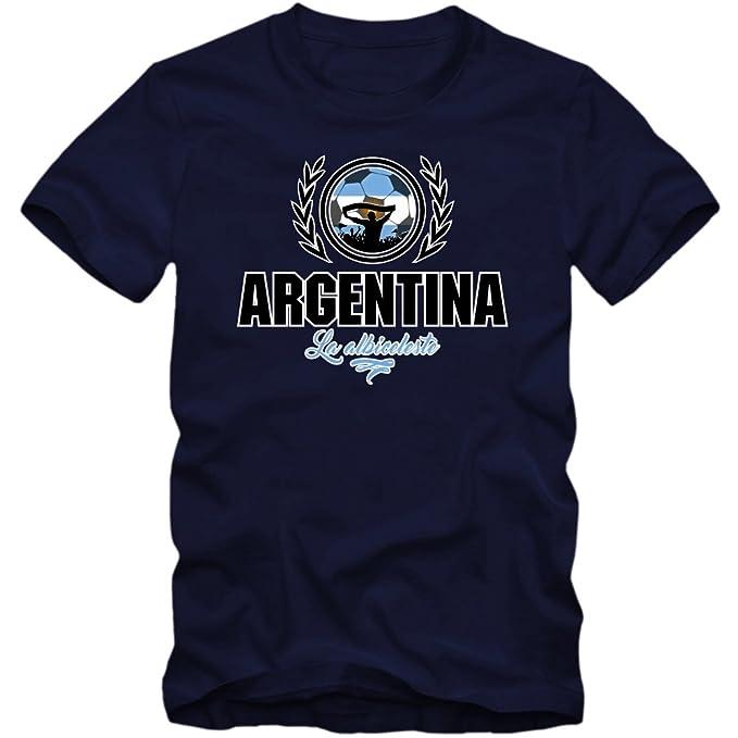 Fútbol Argentina V2 Camiseta | Hombre | Fútbol | La Albiceleste | Jersey | Equipo Nacional