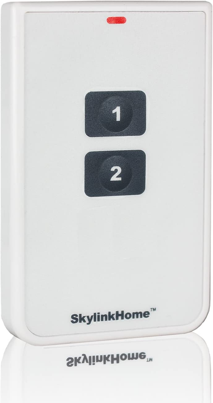 SkylinkHome TC-318-2 Two Button Wireless Lighting Remote Control | Simple Small Easy To Use Handheld Home Automation Transmitter