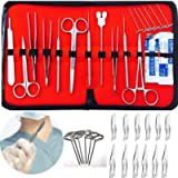 29 pcs Dissection Dissecting Tools Kit Set(6 T-Pins included)for Biology Anatomy Medical Students, Professionals…