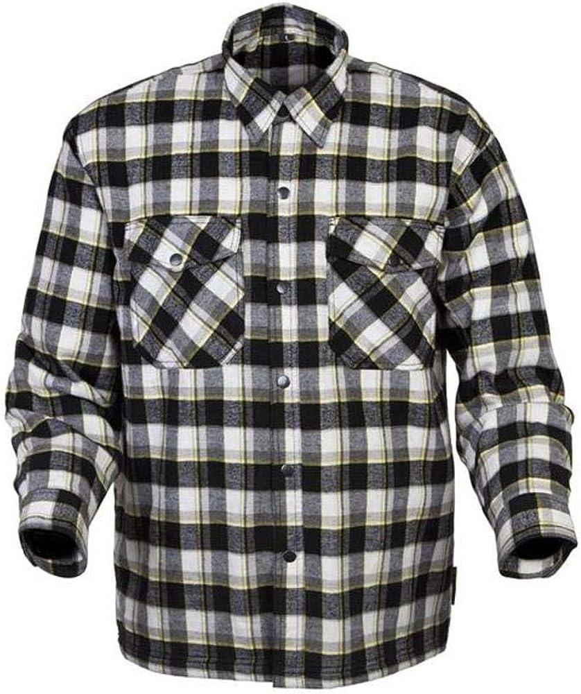 SCORPION – Covert Camisa de manga larga de franela, Negro/Blanco/Amarillo: Amazon.es: Deportes y aire libre