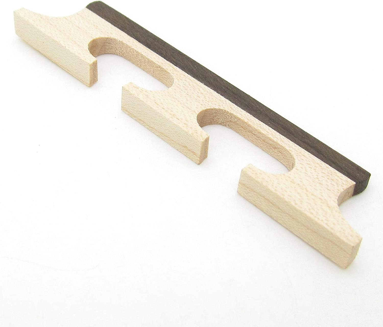 Maple /& Ebony 4 String Banjo Bridge New Banjo Parts