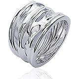 ISADY - Gesa Silber - Damen Ring - Sterling Silber 925 -