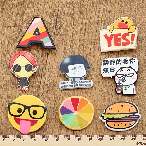 Korea cute cartoon fashion brooch pin badge sell Meng students with jewelry Ja and South Korea runaway children fruit ornaments