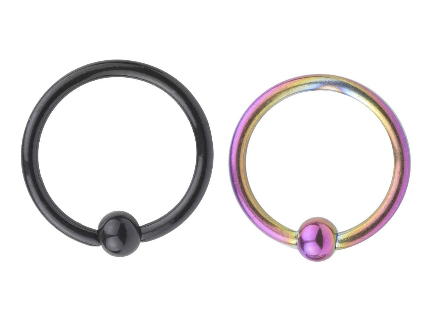 FB 16G 8mm 316L Surgical Steel Nose Hoop Lip Eyebrow Tongue Helix Tragus Cartilage Septum Piercing Ring