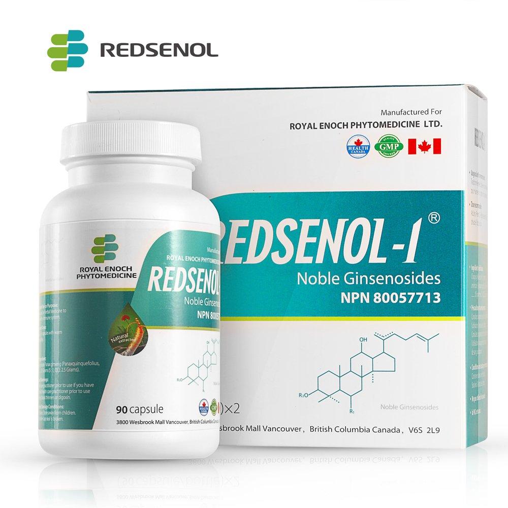 Amazon.com: Redsenol – Contain 16 Rare Ginsenosides: Rk2 Rg5 Rh2 Rk1 ...