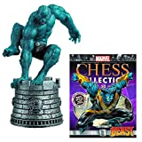 Marvel X-Men Beast White Rook Chess Piece with Collector Magazine