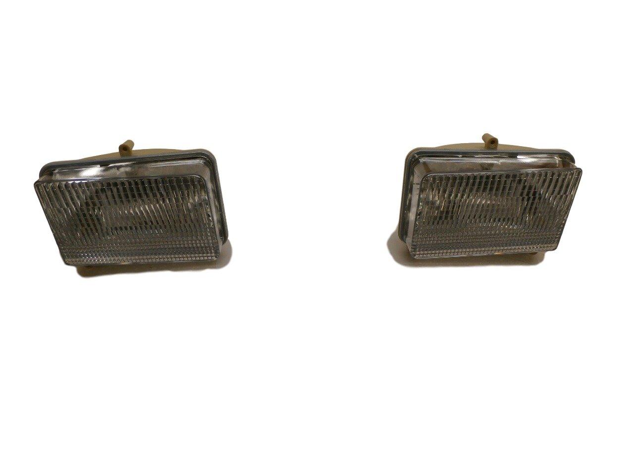 John Deere Right and Left Headlight SET AM120150 AM120151 425 445 455