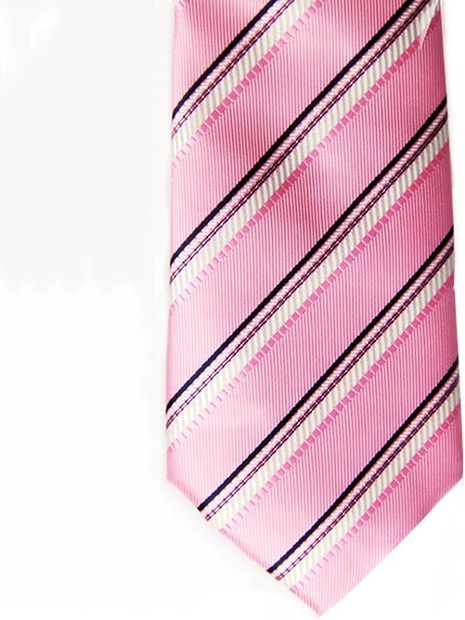YYB-Tie Corbata Moda La Corbata de la Raya de los Hombres ata la ...