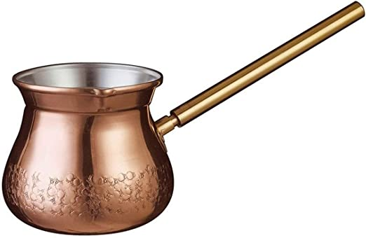 WXQYQ Cafetera Retro, Cafetera De Cobre Puro 300 Ml 1-2 Porciones De Cafetera Turca: Amazon.es: Hogar