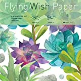 Flying Wish Paper ''Trendy! Succulent Design - CACTUS GARDEN - 5'' x 5'' - Mini Kits