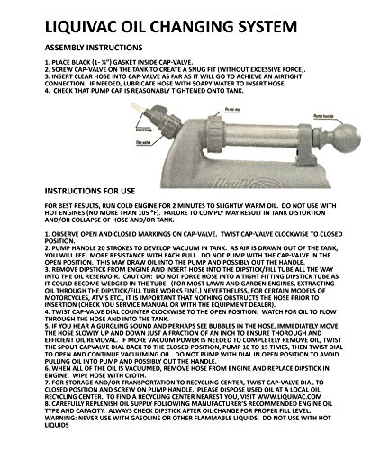 Air Power America 2005LV LiquiVac Oil Changing System for Small Engine by Airpower America (Image #6)