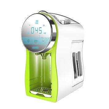 QFFL Máquina de Espuma Máquina de Leche en Polvo automática Regulador de Leche termostático Inteligente Burbuja de Leche Caldera de Calor Verde Bomba de ...