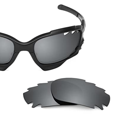 4e6d48a0bb Revant Polarized Replacement Lenses for Oakley Racing Jacket Vented Black  Chrome MirrorShield