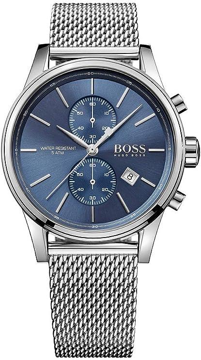 Relógio Hugo Boss de quartzo para homens, modelo 1513441