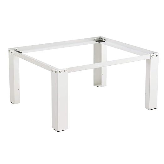 en.casa]®] Pedestal para Lavadora Soporte Mueble 63 x 54 x 31 cm ...