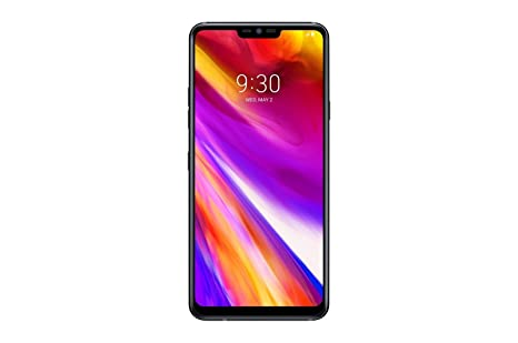 Lg G7+ Thin Q Lm G710 Eaw 128 Gb/6 Gb (Factory Unlocked)   Gsm Only, No Cdma   No Warranty In The Usa (Black) by Lg